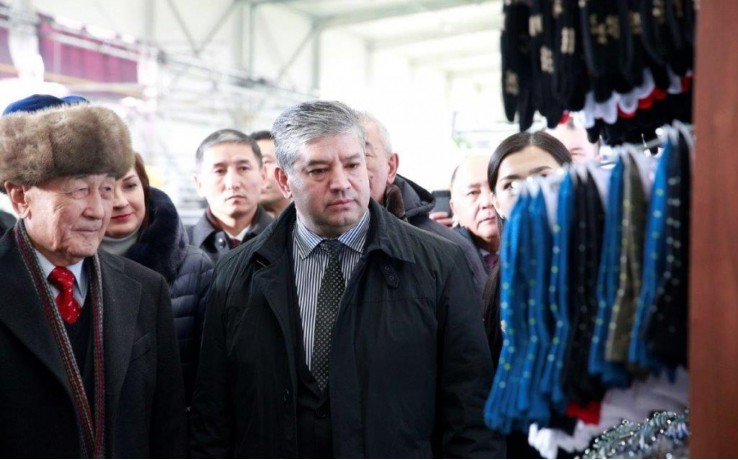 Вице-премьер-министр Равшанбек Сабиров: С запуском производства пряжи в республике создан хлопковый кластер от сырца до швейных изделий
